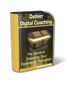 Deliver Digital Coaching by Christine Cobb