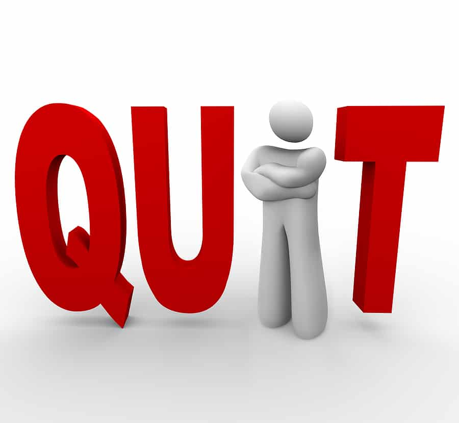 When is it time to quit online business?