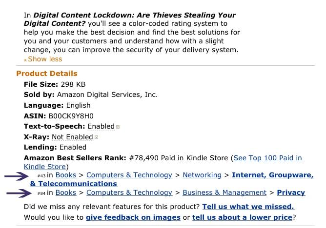 Kindle Bestseller