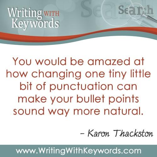 Karon Thackston Keyword Writing