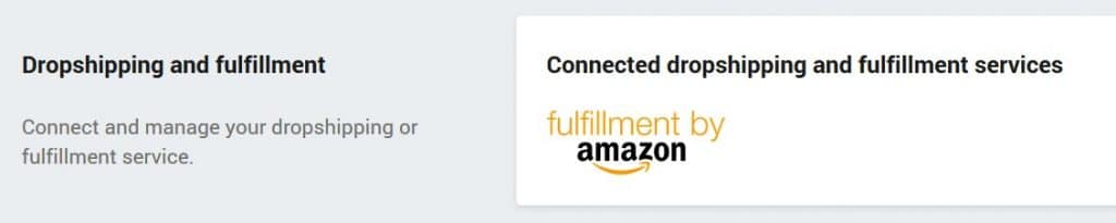 Connect Shopify with Amazon FBA