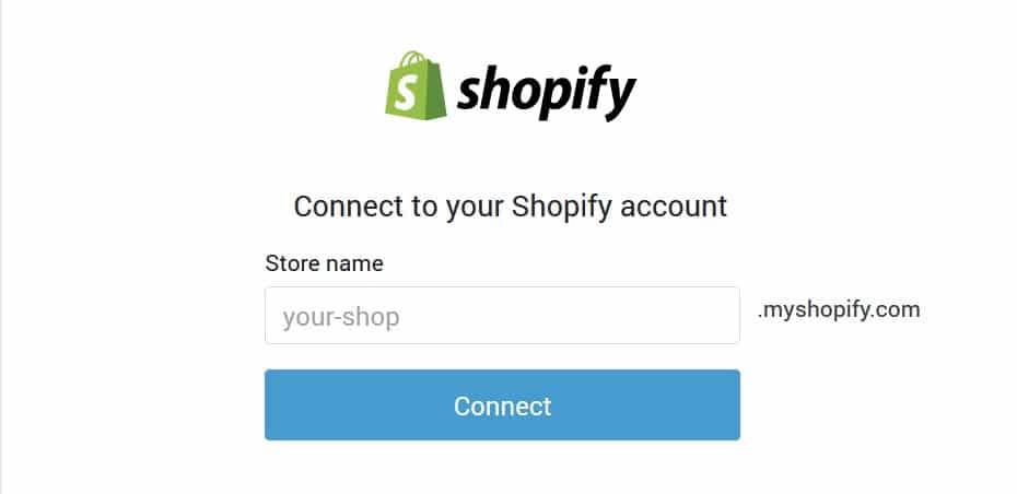 Connect Shopify Plugin