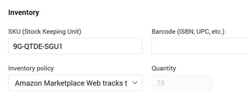 Shopify Tracks Inventory